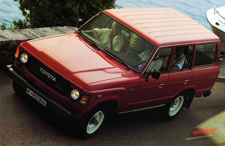 Toyota Land Cruiser пятого поколения, 1980-1989
