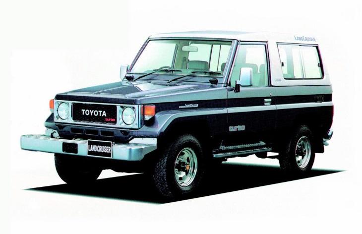 Toyota Land Cruiser шестого поколения, 1984