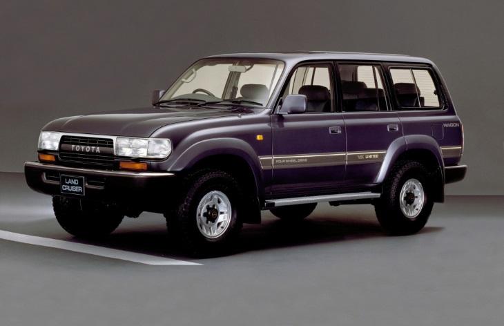 Toyota Land Cruiser седьмого поколения, 1990-1997
