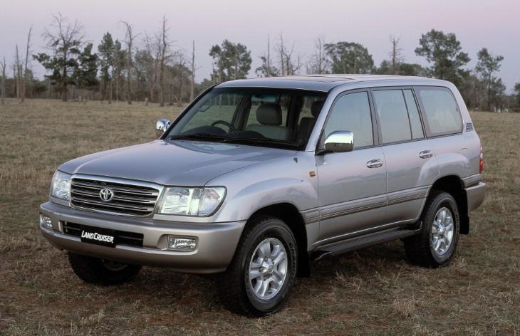 Toyota Land Cruiser восьмого поколения, 1998-2007