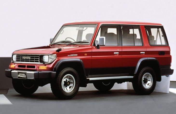 4617e62b2d10 Внедорожник Toyota Land Cruiser Prado первого поколения, 1990–1996