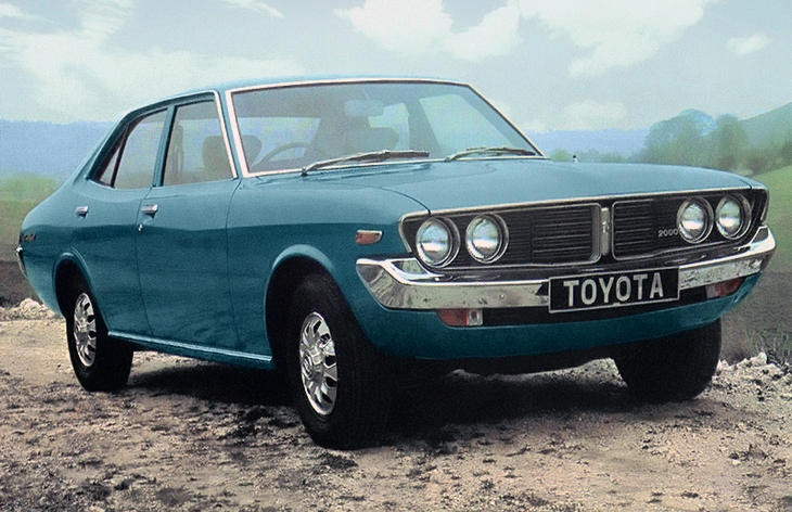 toyota mark 1976 года