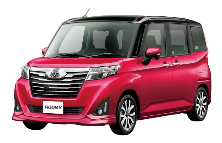 Toyota Roomy фото характеристики цены