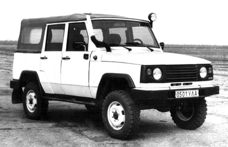 Опытный внедорожник УАЗ-3172, 1991 год