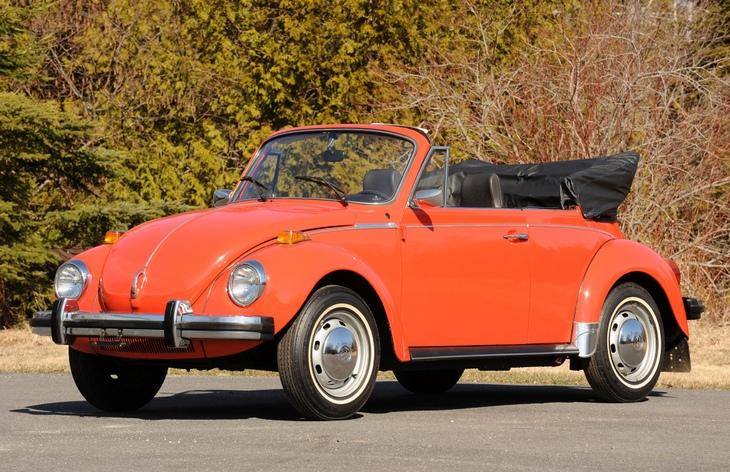 Volkswagen Beetle Convertible, 1972