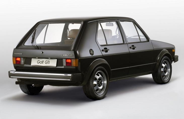 Пятидверный хэтчбек Volkswagen Golf GTI первого поколения, 1976–1983