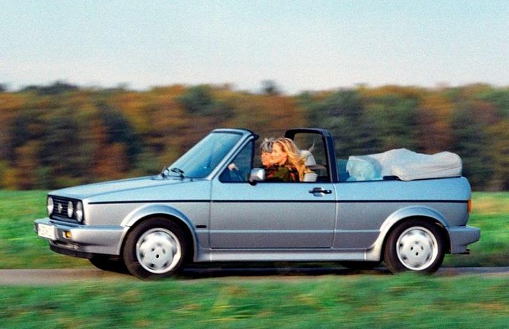 Кабриолет Volkswagen Golf Cabrio первого поколения, 1979–1988