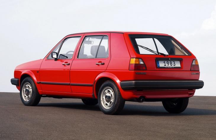 Пятидверный хэтчбек Volkswagen Golf второго поколения, 1983–1992