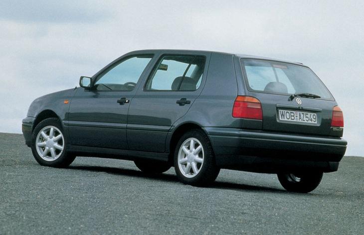 Пятидверный хэтчбек Volkswagen Golf третьего поколения, 1991–1997