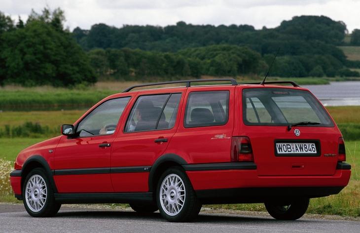 Универсал Volkswagen Golf Variant третьего поколения, 1993–1999