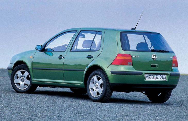 Пятидверный хэчтбек Volkswagen Golf четвертого поколения, 1997–2006