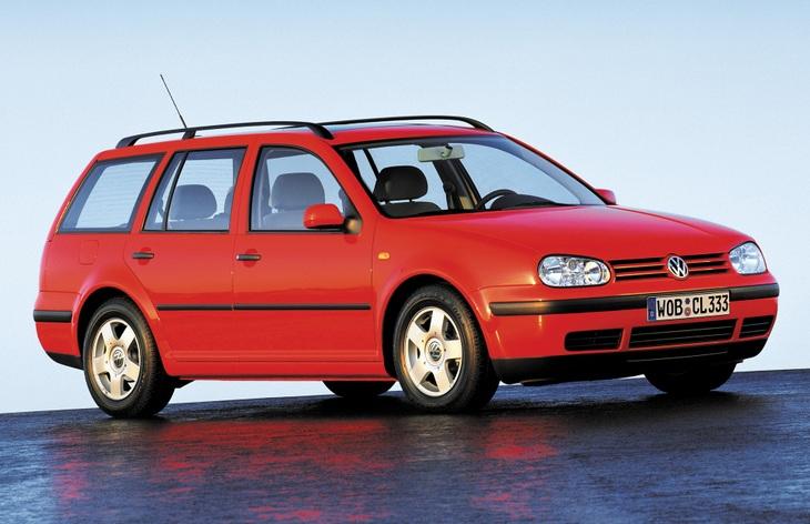 Универсал Volkswagen Golf четвертого поколения, 1999–2006