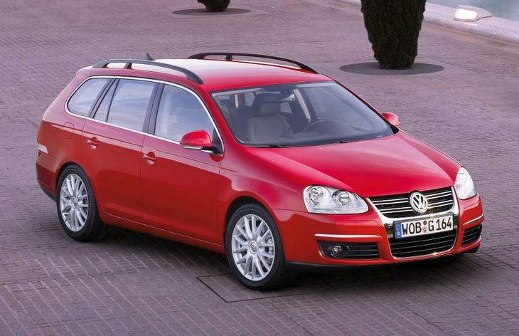 Универсал Volkswagen Golf пятого поколения, 2007–2009