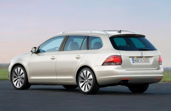 Универсал Volkswagen Golf шестого поколения, 2010–2013