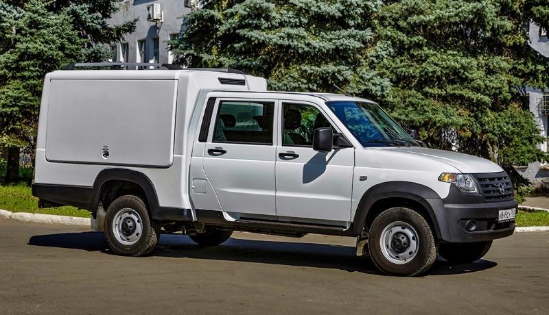 У грузовичка «УАЗ Профи» появится версия с необычным кузовом