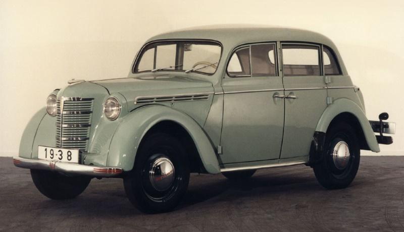 Четырёхдверный Opel Kadett