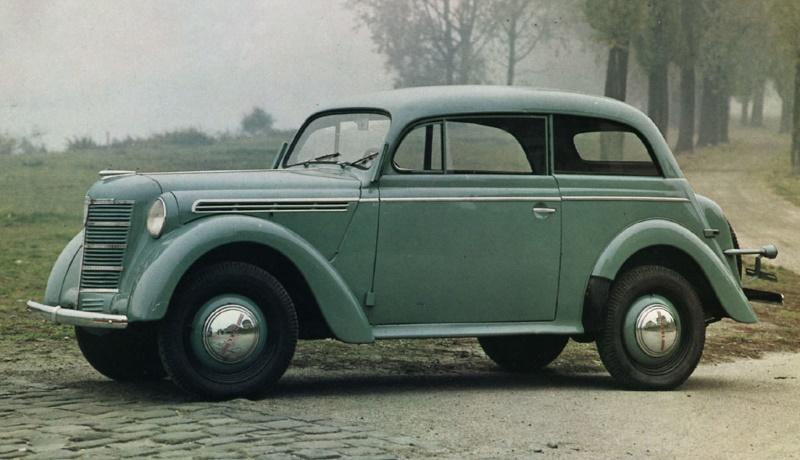 Двухдверный Opel Kadett