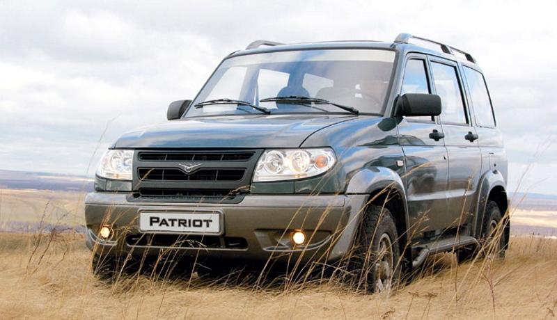 «УАЗ Патриот» выпускается с 2005 года