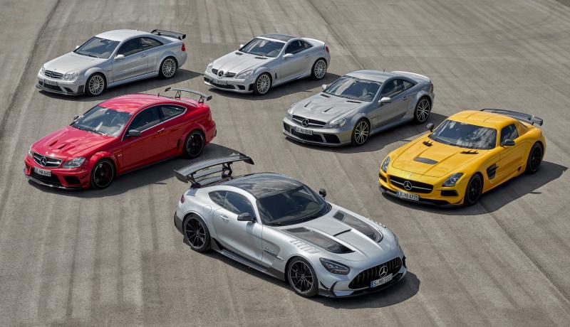 Все шесть моделей «чёрной серии