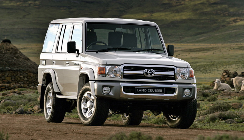 Toyota Land Cruiser серии 70