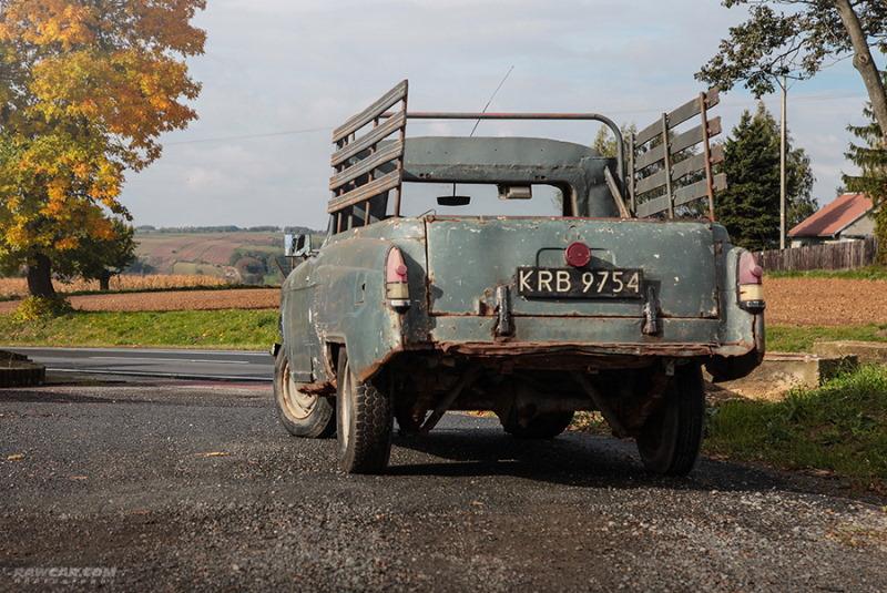 В Польше нашли редкий пикап на базе «Волги» ГАЗ-21