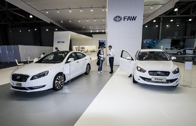 Китайцы перезапускают марку FAW в России