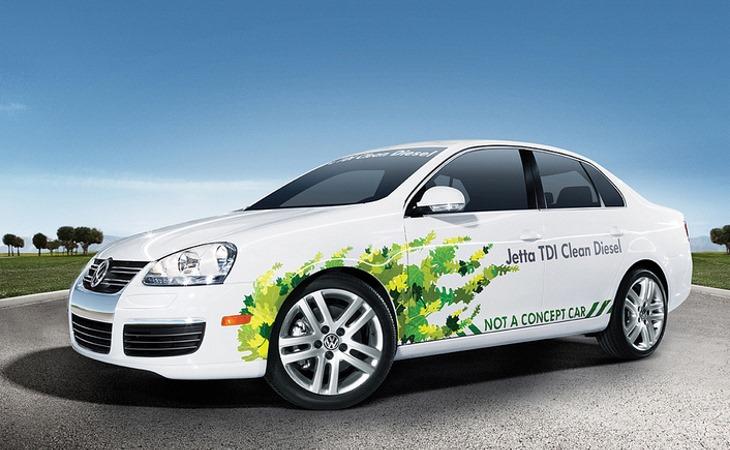 В последние годы американский филиал Фольксвагена рекламировал дизели как образец особо чистого мотора