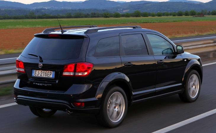Минивэн Fiat Freemont окончательно покинул рынок России