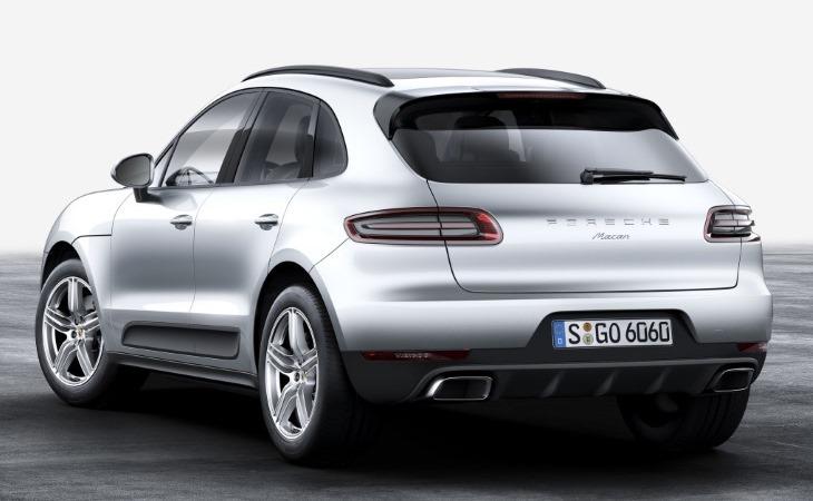 Объявлена цена новой версии кроссовера Porsche Macan