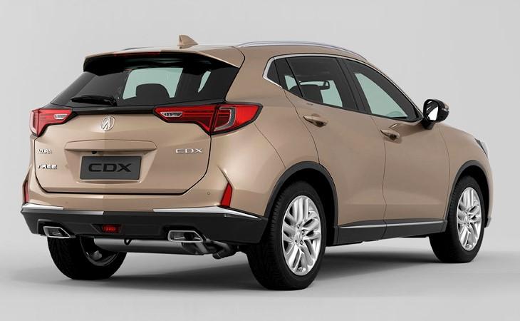 Acura начнет в Китае выпуск кроссовера CDX