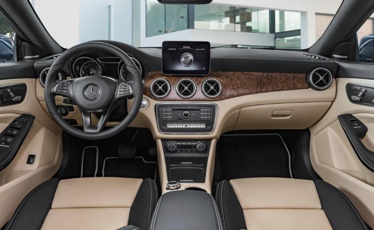 Обновлённый Mercedes-Benz CLA-Class 2016 получил рублевый ценник