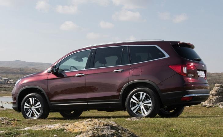 Honda объявила российские цены на новое поколение Pilot