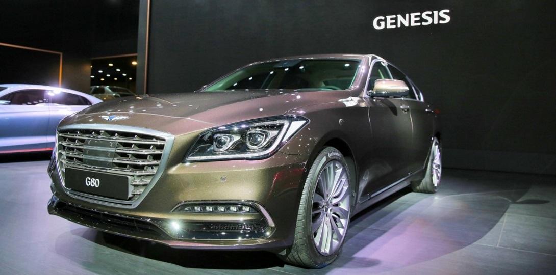 вторая модель марки Genesis дебютировала в корее авто новости все