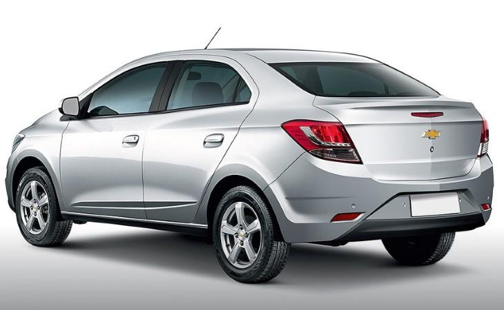 Обновленный седан Chevrolet Prisma