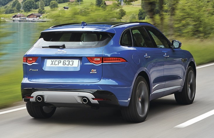 Начались продажи нового кроссовера Jaguar F-Pace