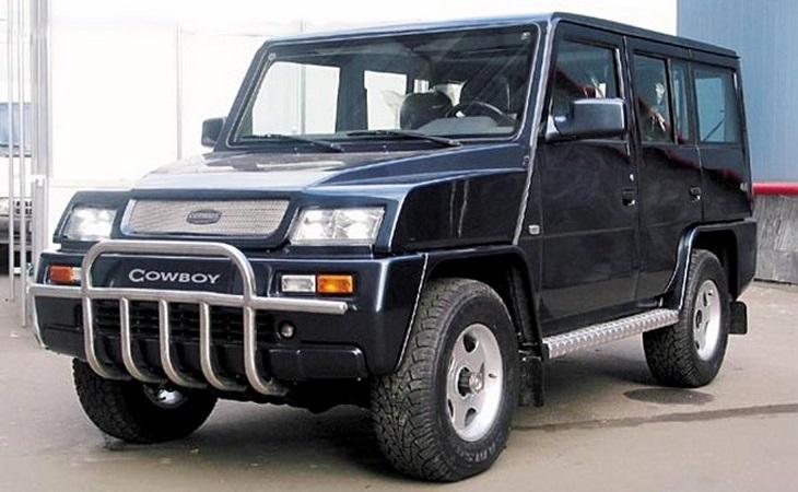 ВПакистане возродят русский вседорожный автомобиль Derways Cowboy