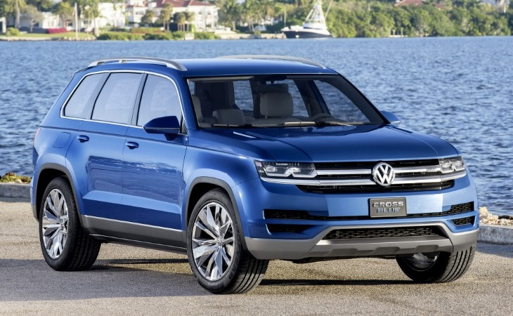 Концепт-кар Volkswagen CrossBlue