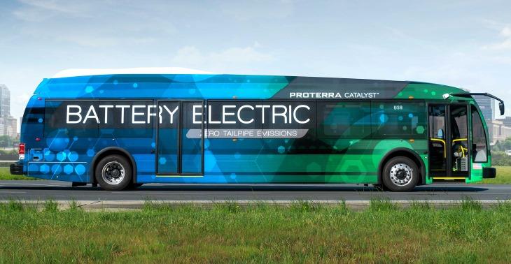 Новый электробус может проехать неменее 500км наодной зарядке 18