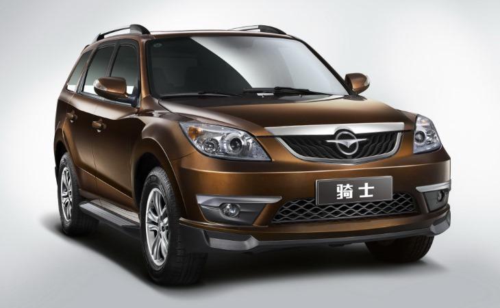 В Российской Федерации закончили торговать автомобили Haima