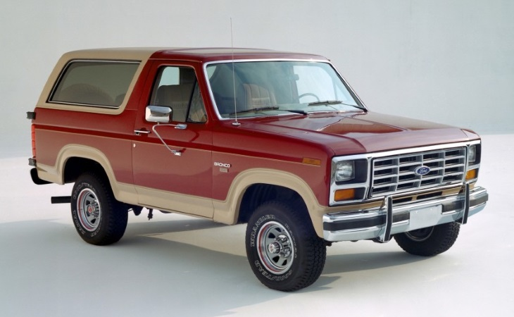 Форд возродит культовый вседорожный автомобиль Bronco