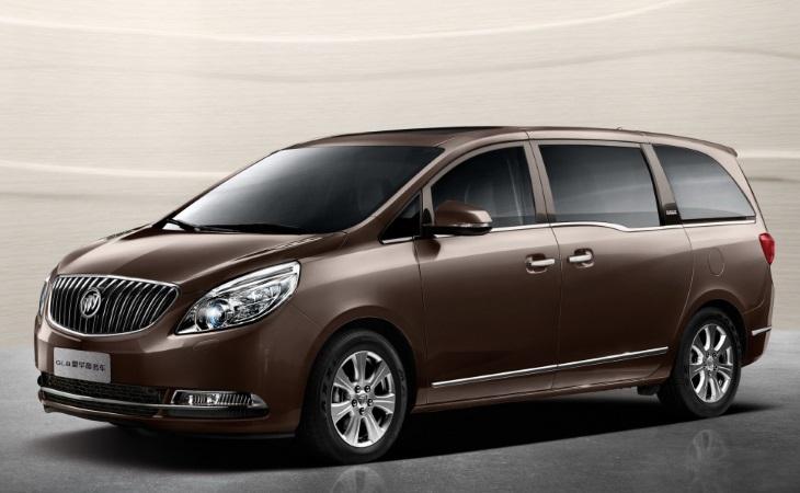 Buick GL8 второго поколения каждый месяц в Китае продаётся 6–7 тысяч таких автомобилей
