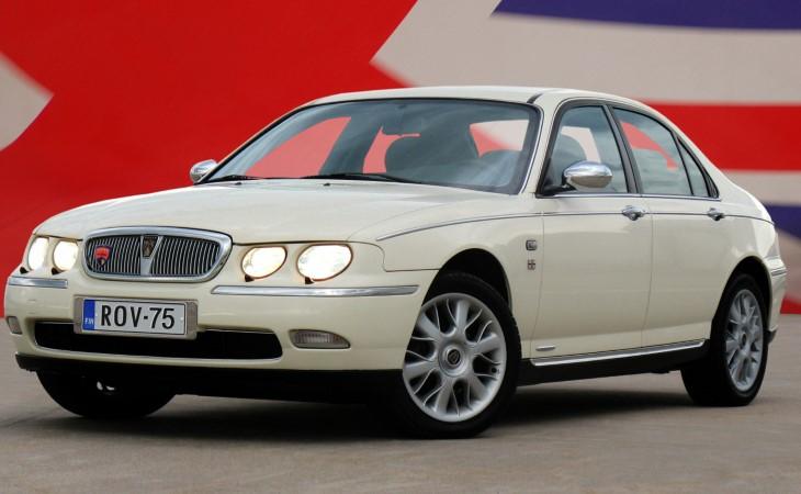 История модели Rover 75 закончилась вКитайской республике