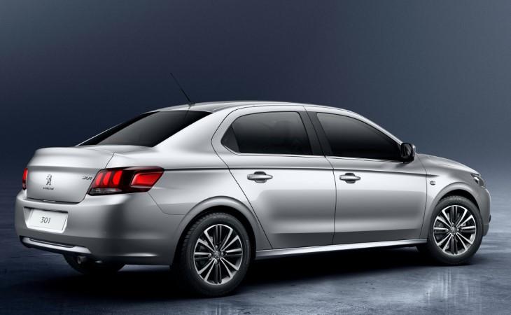 Peugeot 301 посвежел и обзавелся новой мультимедиа