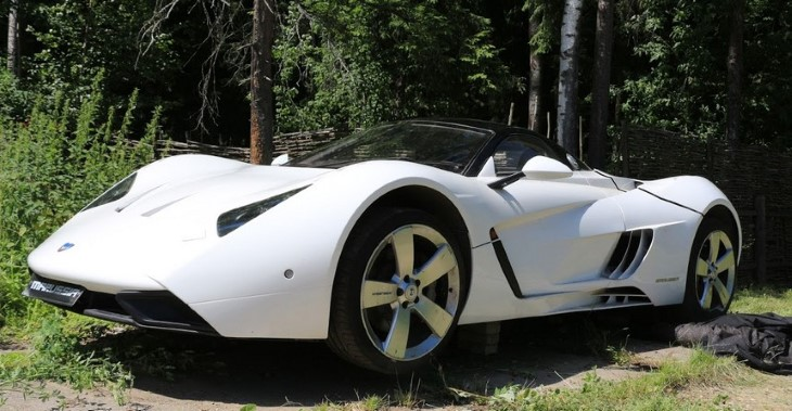 Юрист Фоменко распродает редкие экземпляры авто марки Marussia