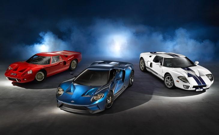 Форд приступил кпроизводству ажиотажного суперкараGT