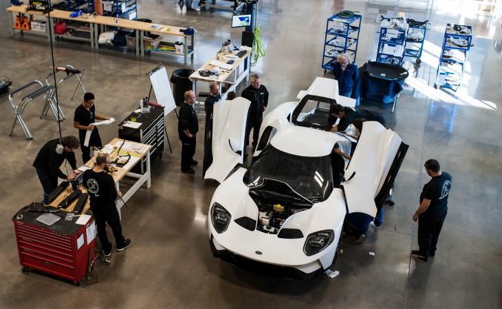 Стартовало производство нового спорткара Форд GT