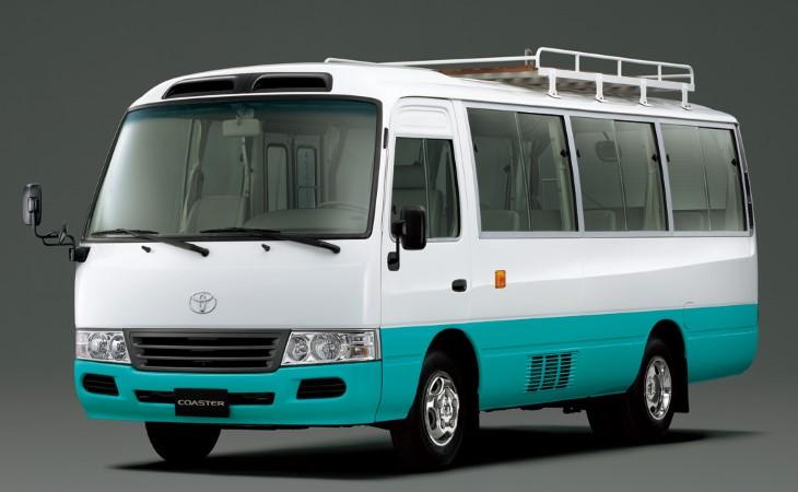 Тоёта представила автобус Coaster четвертого поколения