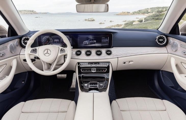 Benz продемонстрировал самый новый кабриолет Е-Класса