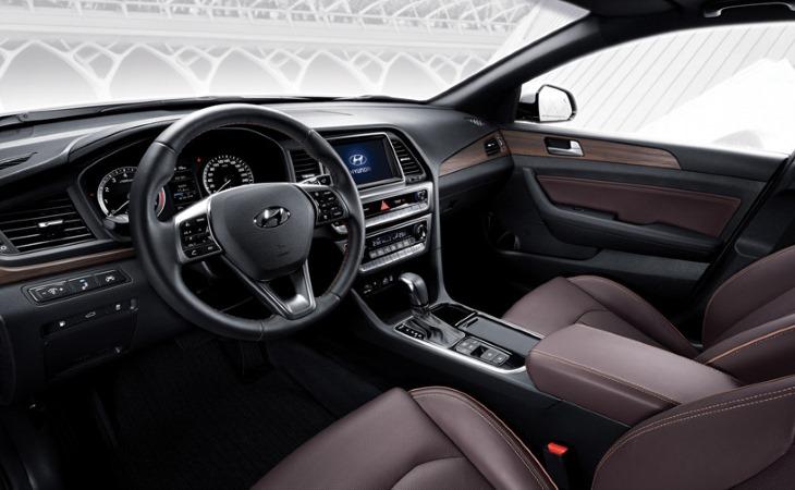 Модернизированный Хендай Sonata официально появился намероприятии вСеуле