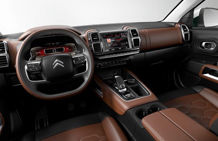 Новый кроссовер Citroen C5 Aircross доберётся до России в 2018 году